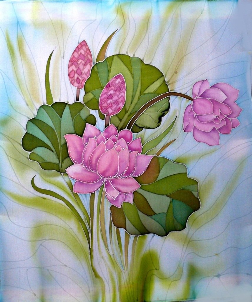 Картинки для росписи по шелку