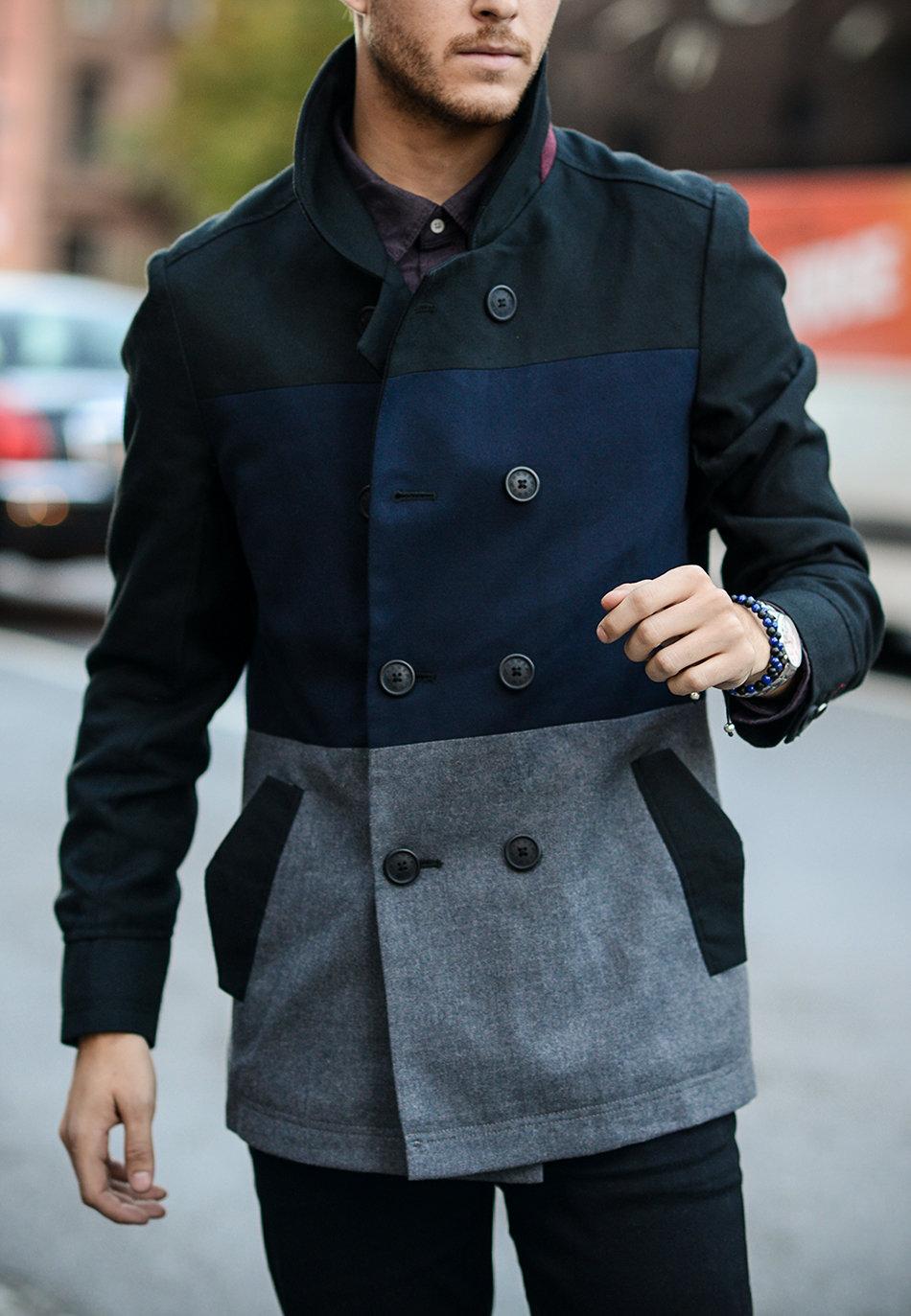 самом короткое пальто мужское фото четко различать