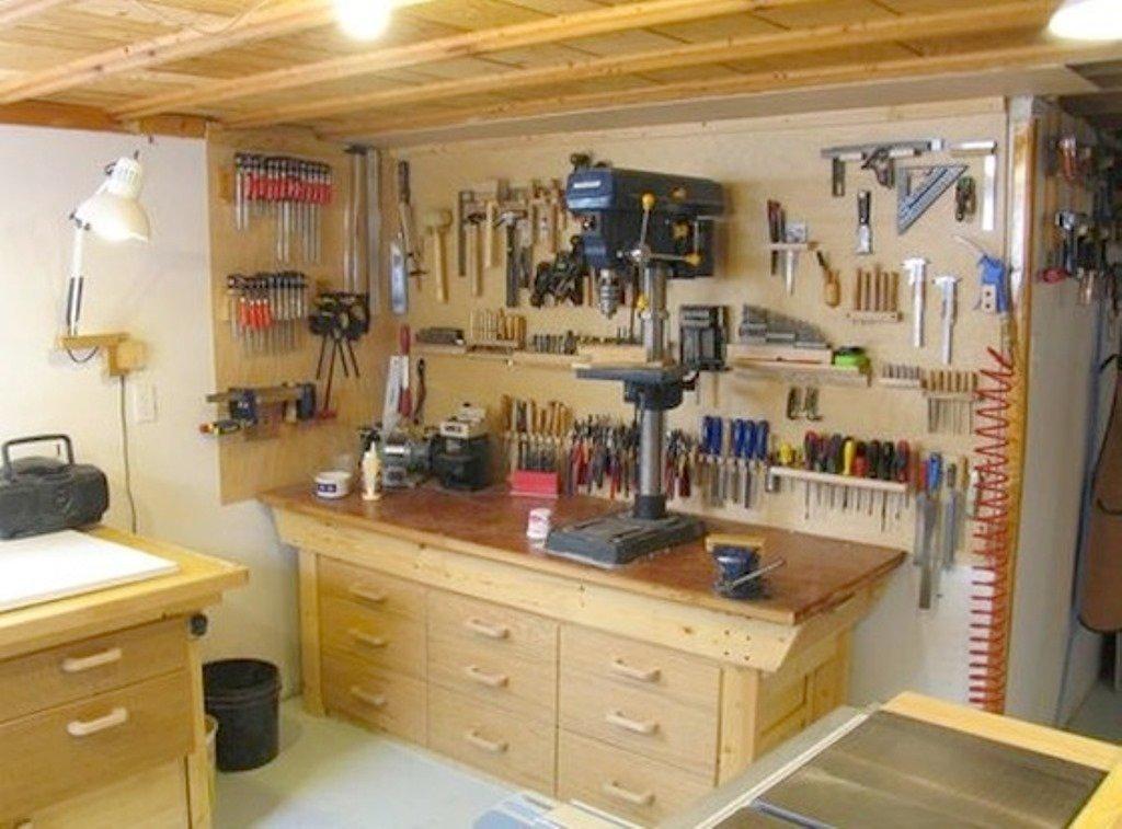 мастерская в подвале гаража