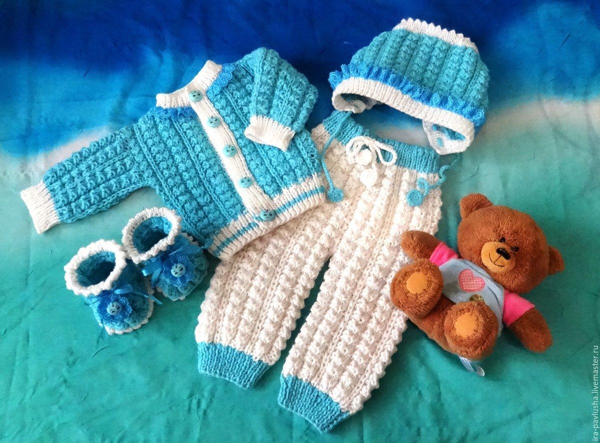 Вязаные костюмы для детей