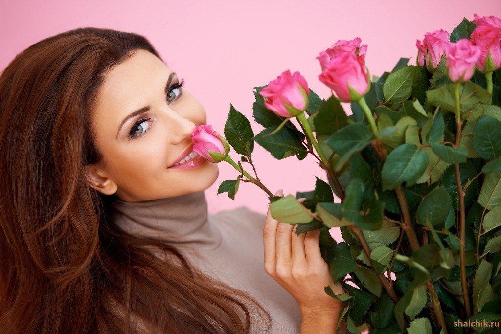 Необычные, цветы и женщина картинки с надписями