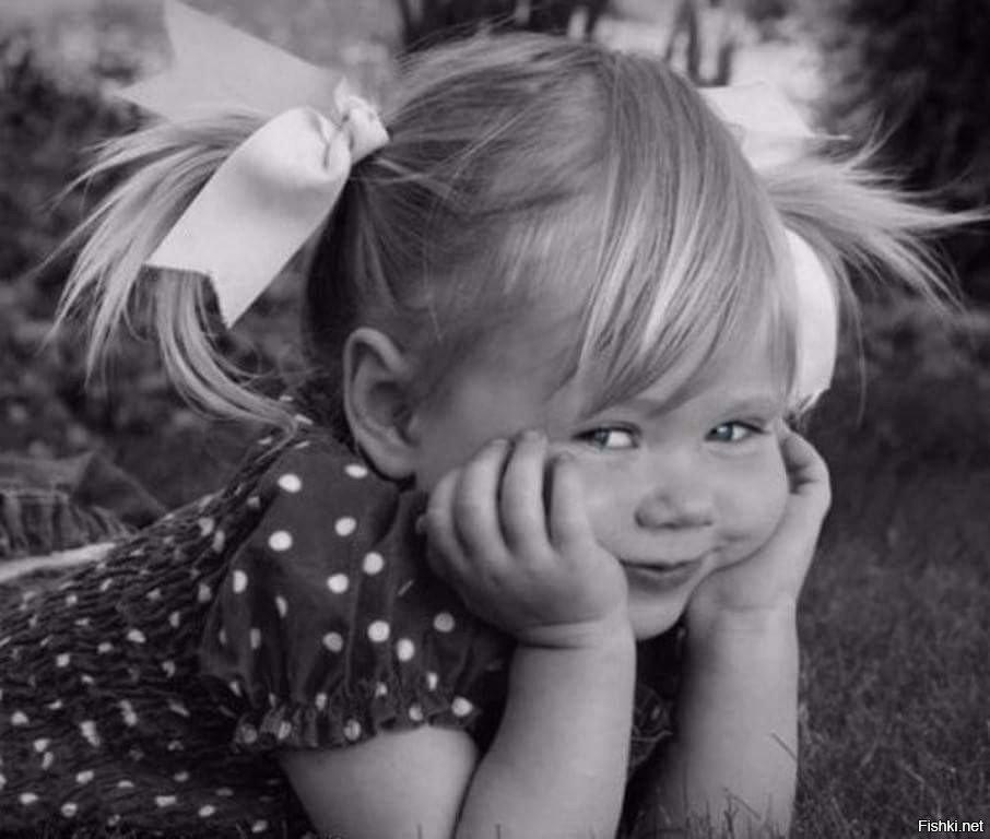 Картинки маленькие прикольные девочки