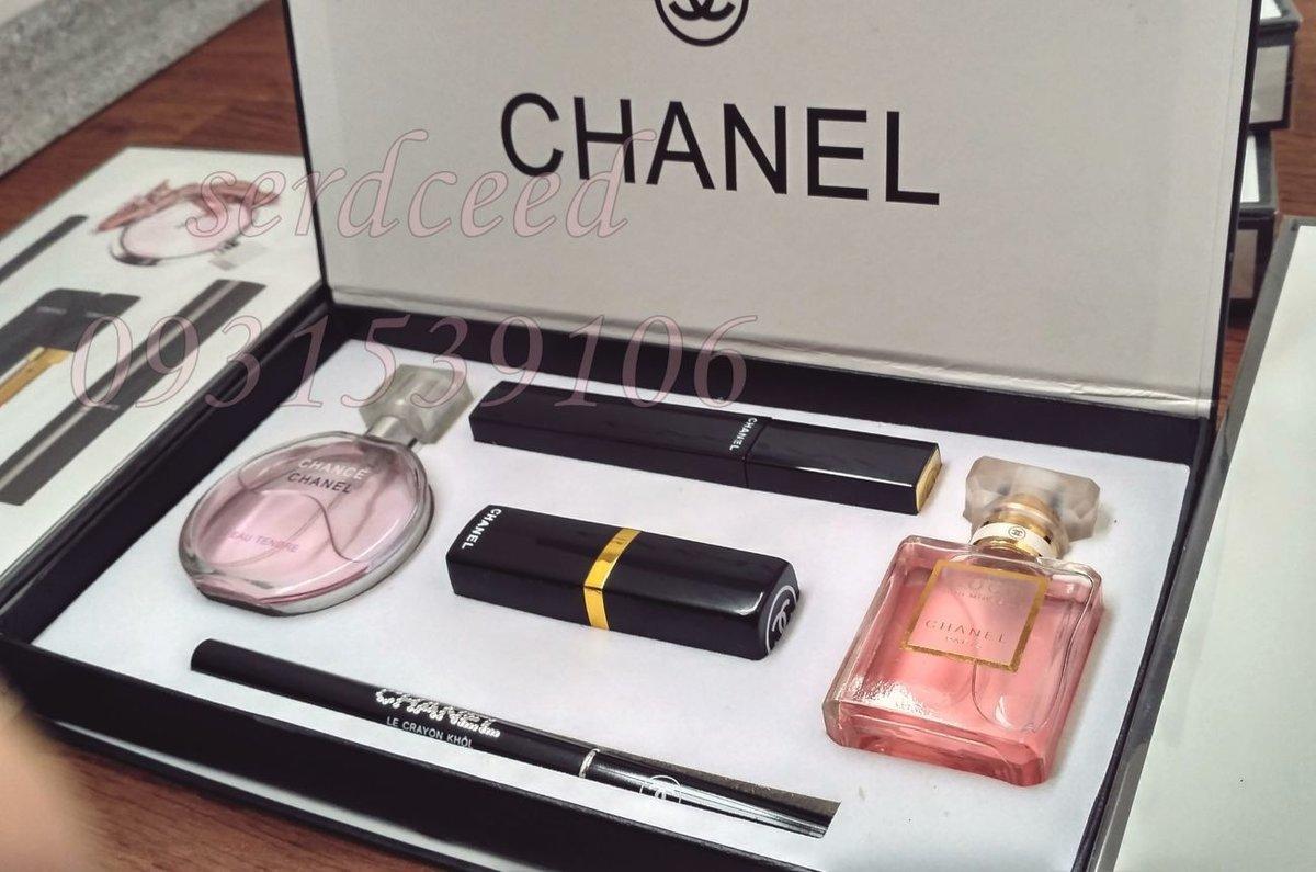 332d7609fd66 Набор 5 в 1 от Chanel. Подарочный набор 5в1 Размер 24х13см Перейти на  официальный сайт