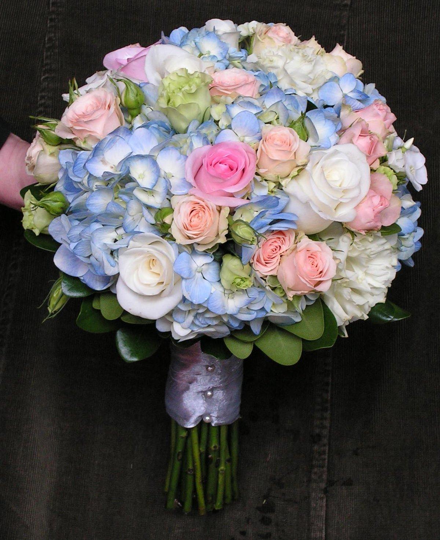 Ташкента, букет невесты переход из розы и гортензии