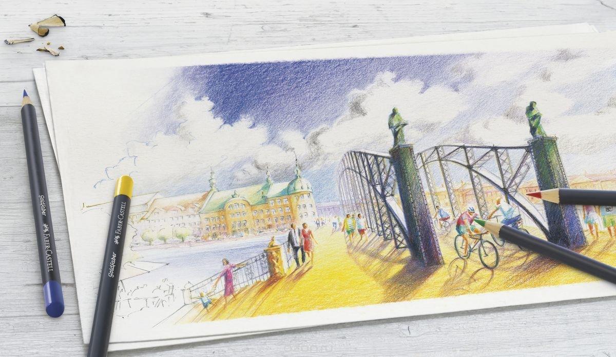 Открыток, открытки с цветными карандашами