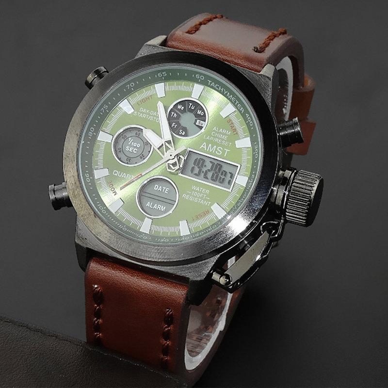 63838fa44c61 Армейские наручные часы Amst. Армейские мужские наручные часы amst амст  Купить со скидкой -50