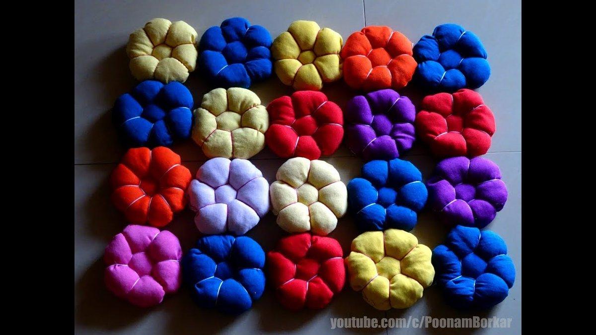 beautiful puff flower mat - 720×405