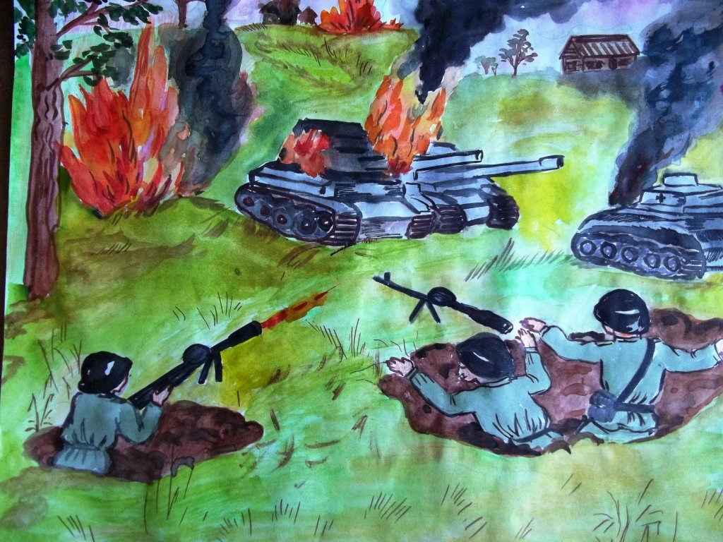 Картинки великой отечественной войны детские