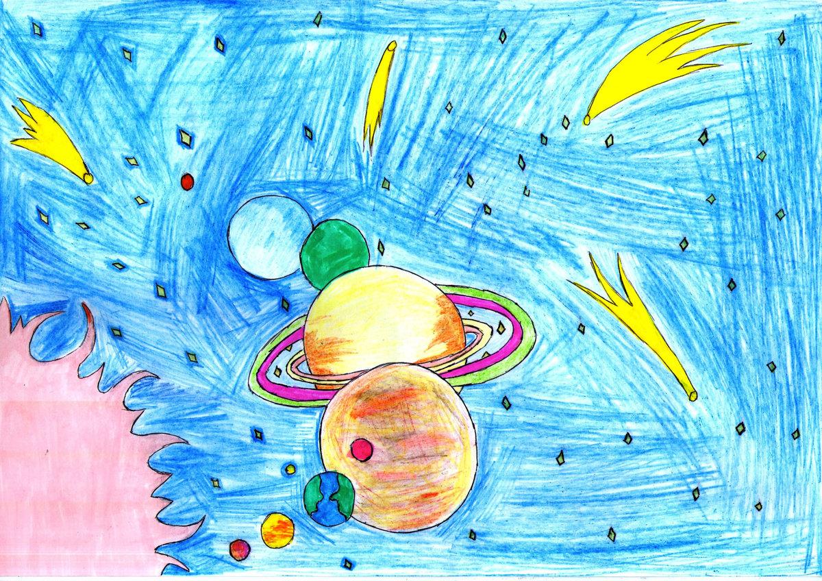 верньер рисование космос картинки качества