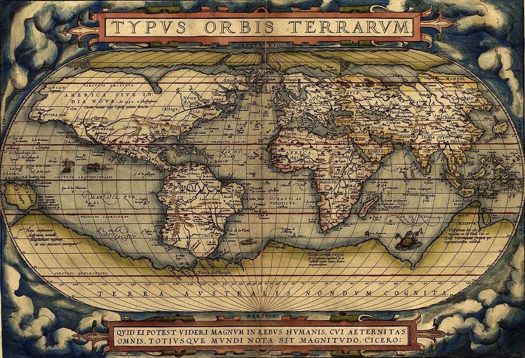 20 мая 1570 г. В Антверпене напечатан первый в мире географический атлас