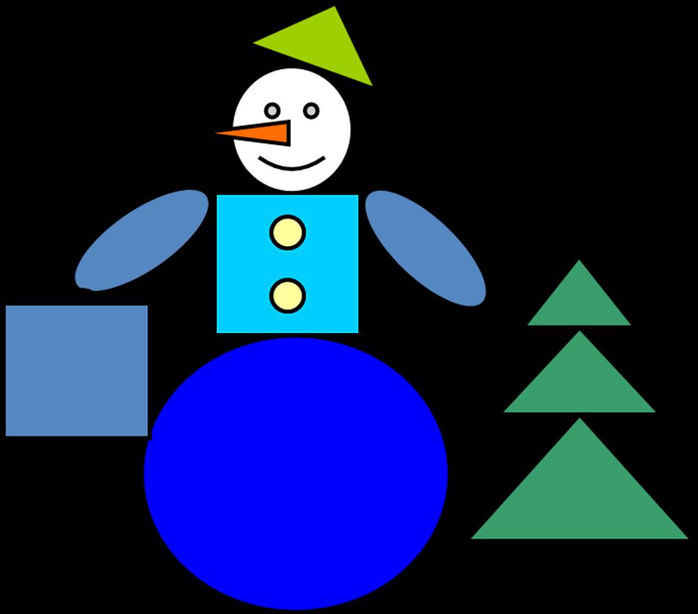 Картинки из геометрических фигур для детей 3-4 лет, открытка рождению