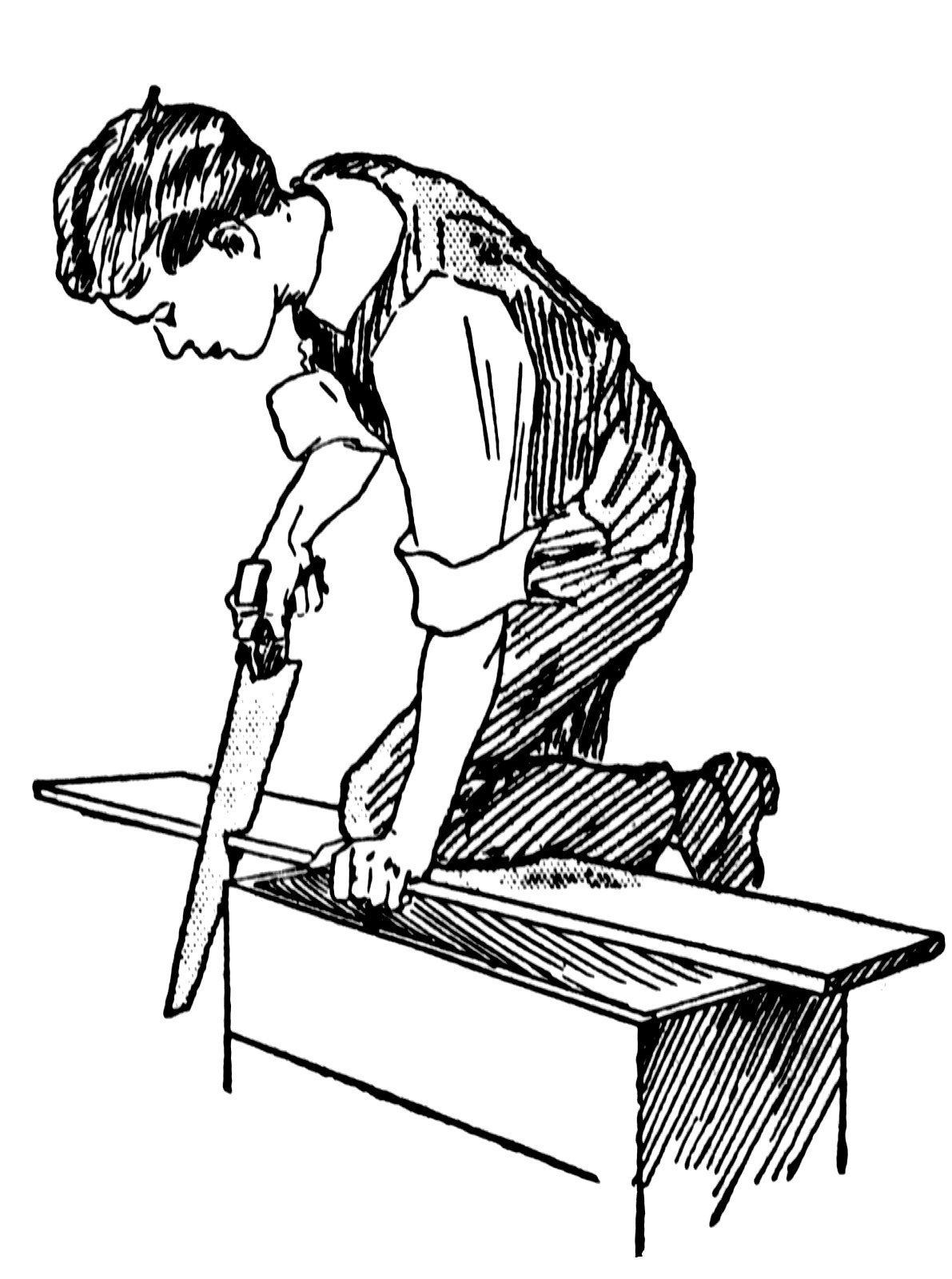 Столяр плотник картинки для детей