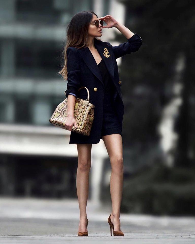 Черное платье с туфлями картинки