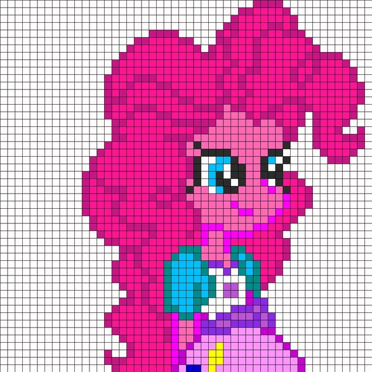 Mlp Equestria Girls Pp Part1 Perler Bead Pattern Perler My Little