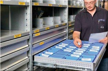 системы хранения товаров на складе