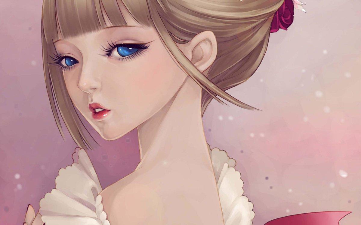 Самые красивые картинки аниме девочек, днем рождения девочке