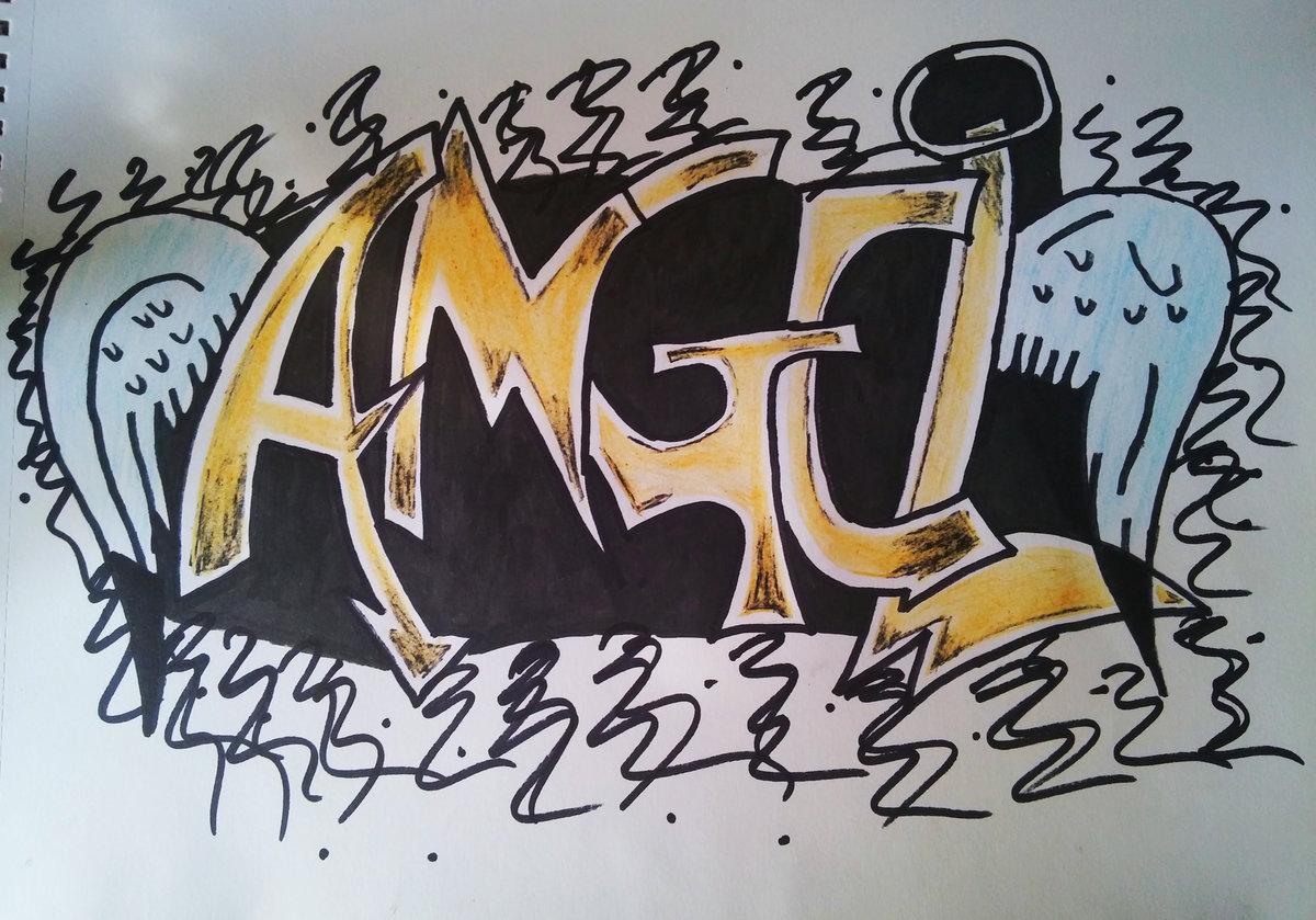 Картинки ангелов красивые граффити
