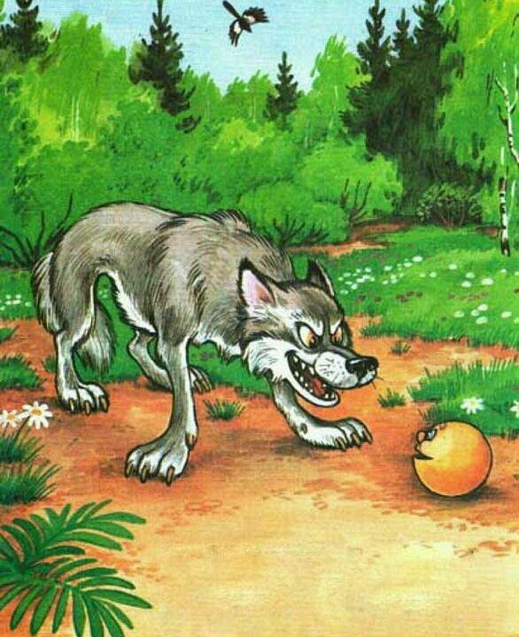Картинки волка к сказкам