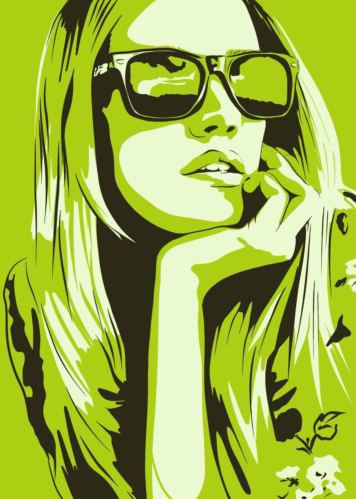 Картинки девушек постер