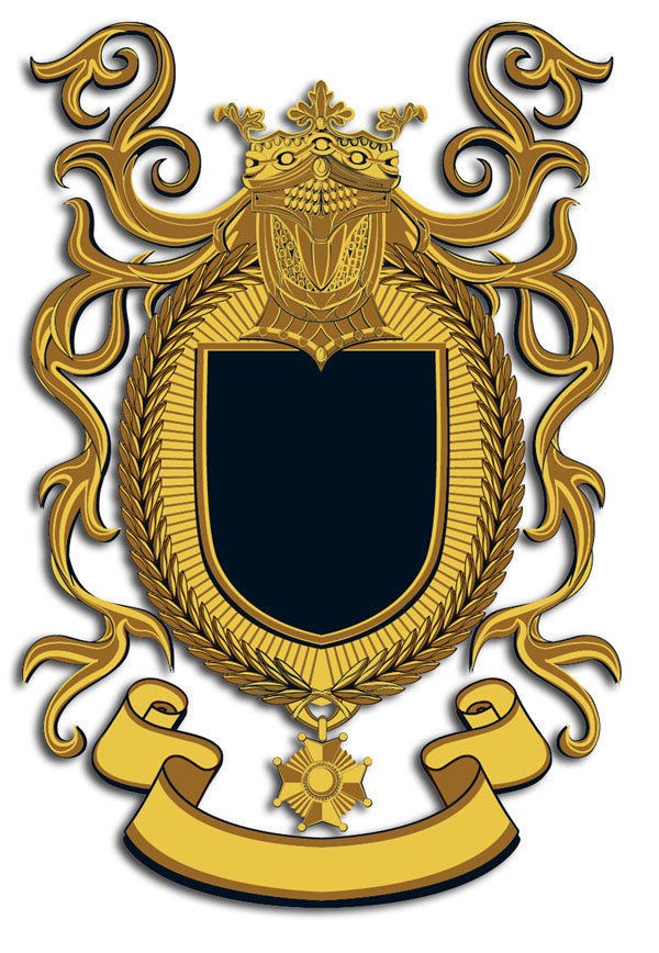 Красивые гербы картинки