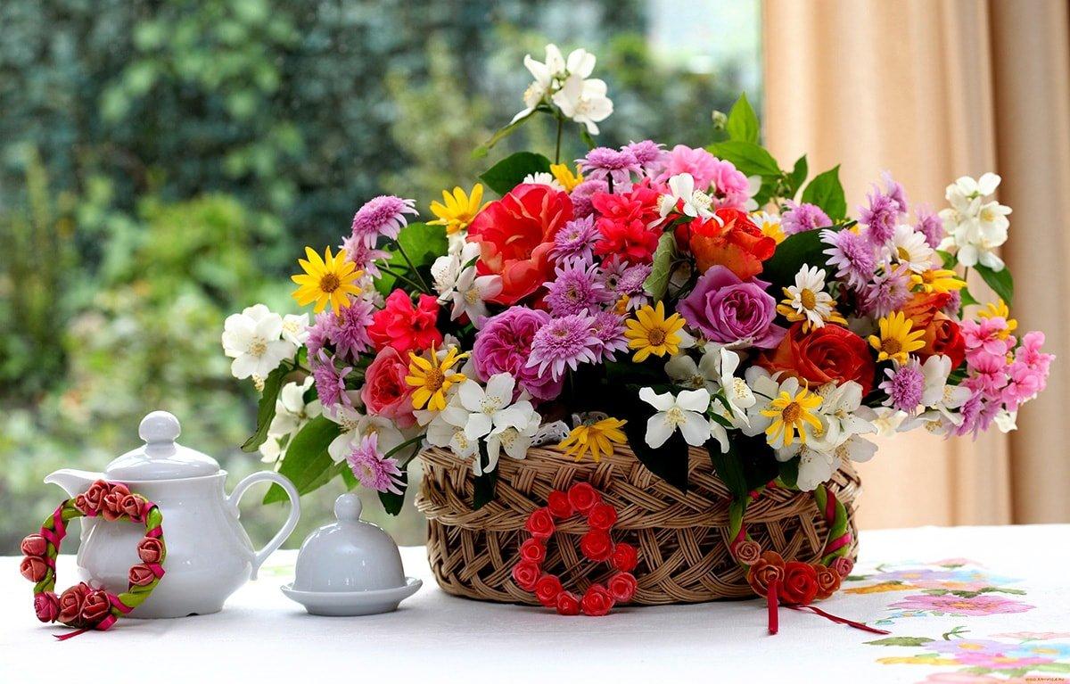 Летние цветы подарить какие