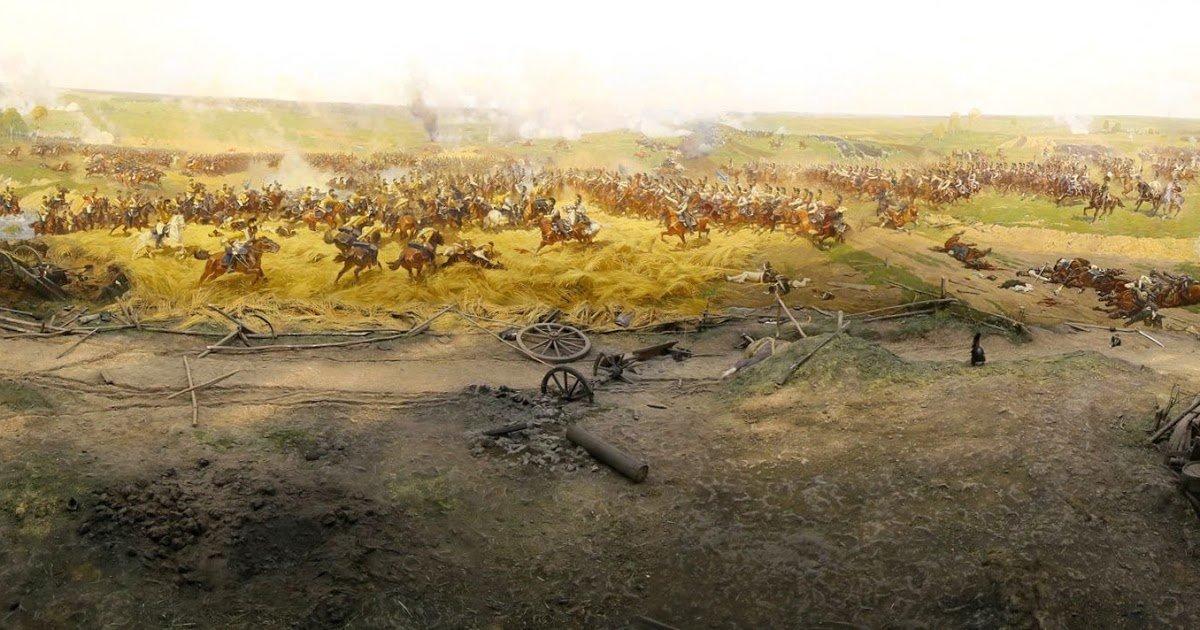 картинки битвы на поле бородино