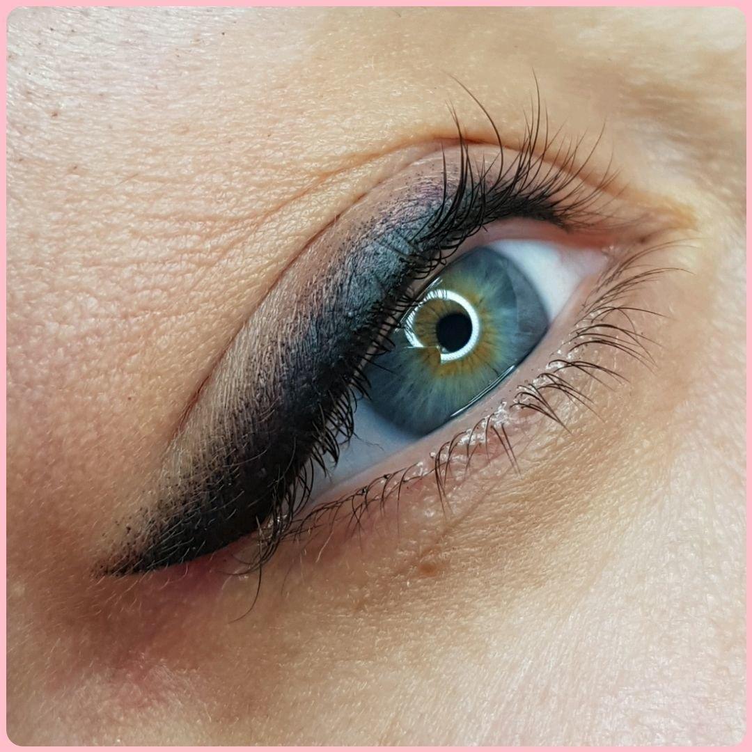 фото перманентного макияжа глаз старинный