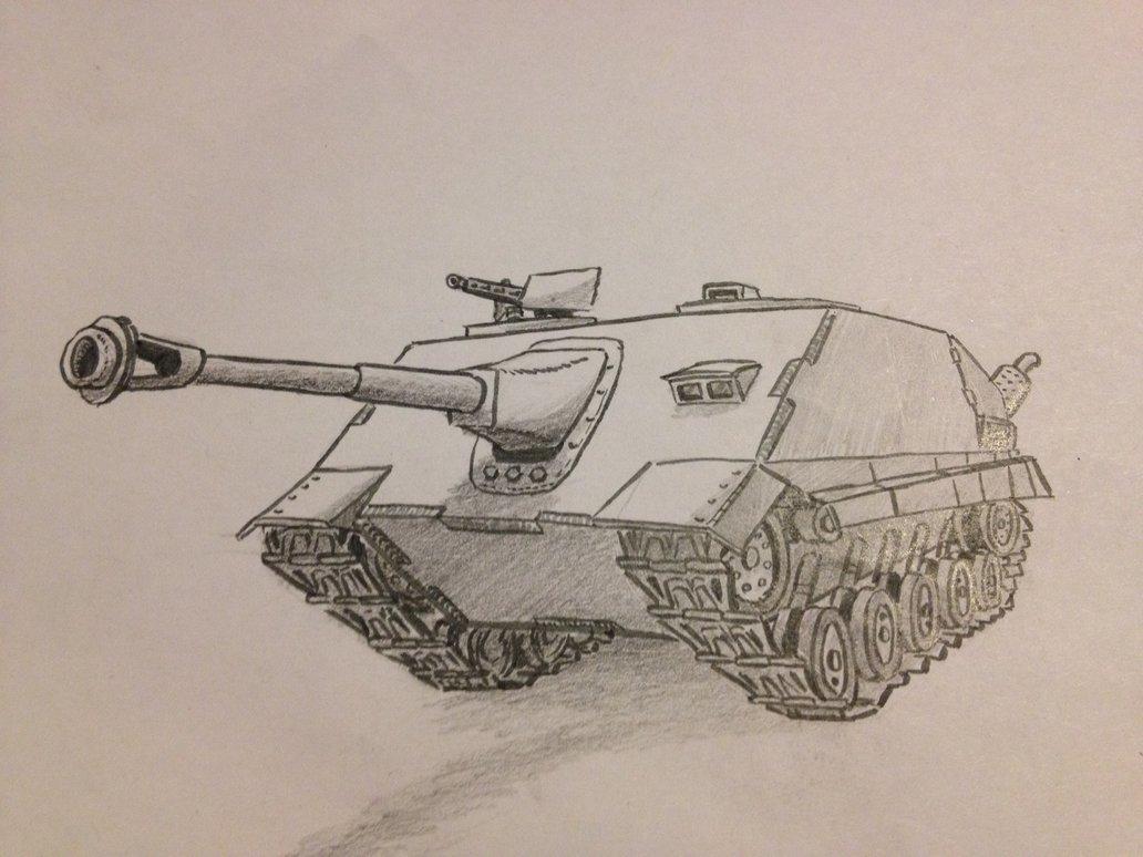 нарезая срисовать картинки танки где