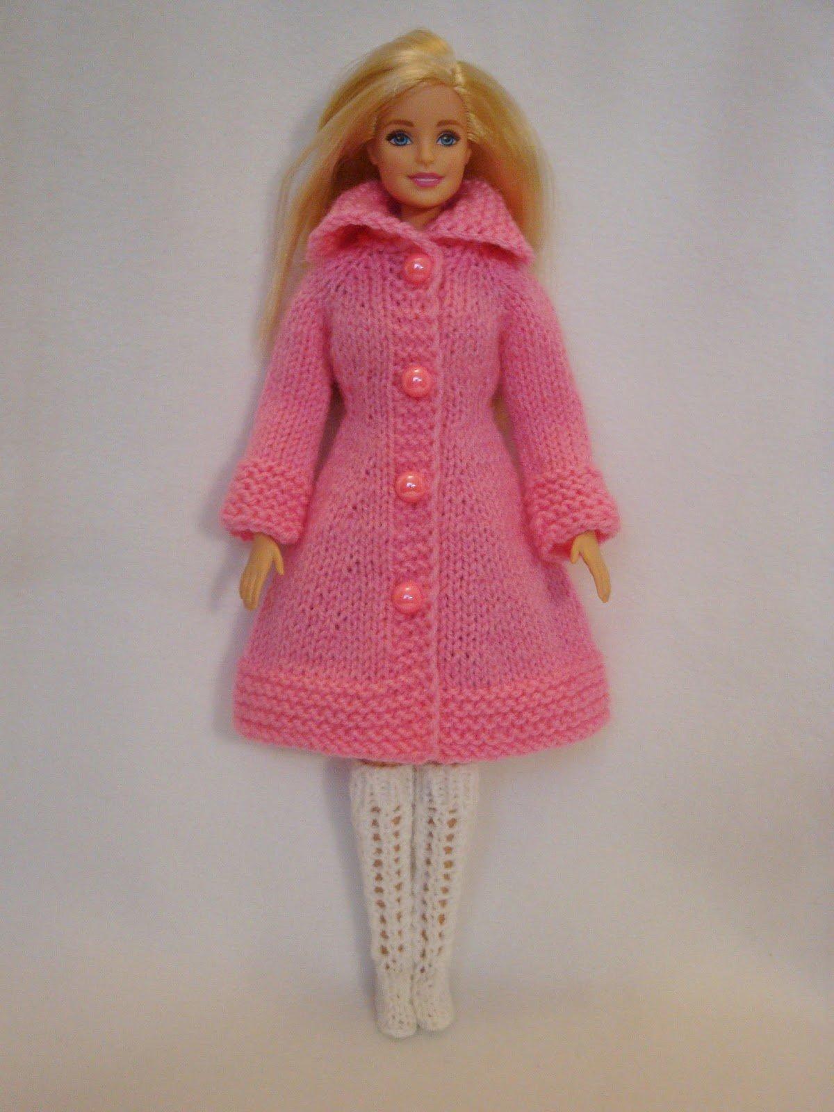 фото схема вязания пальто для барби спицами звание