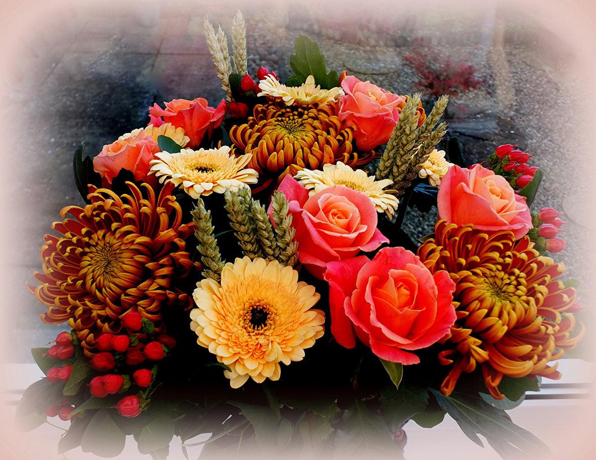 Цветочки букет фото крупный цветонос