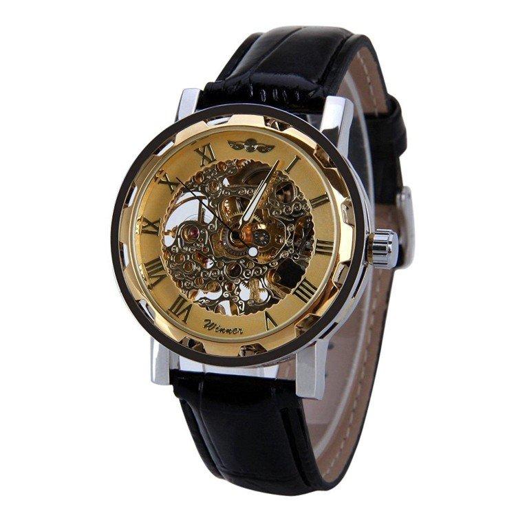 Часы winner skeleton luxury – это оригинальный, спортивный дизайн, который порадует молодых и активных мужчин.