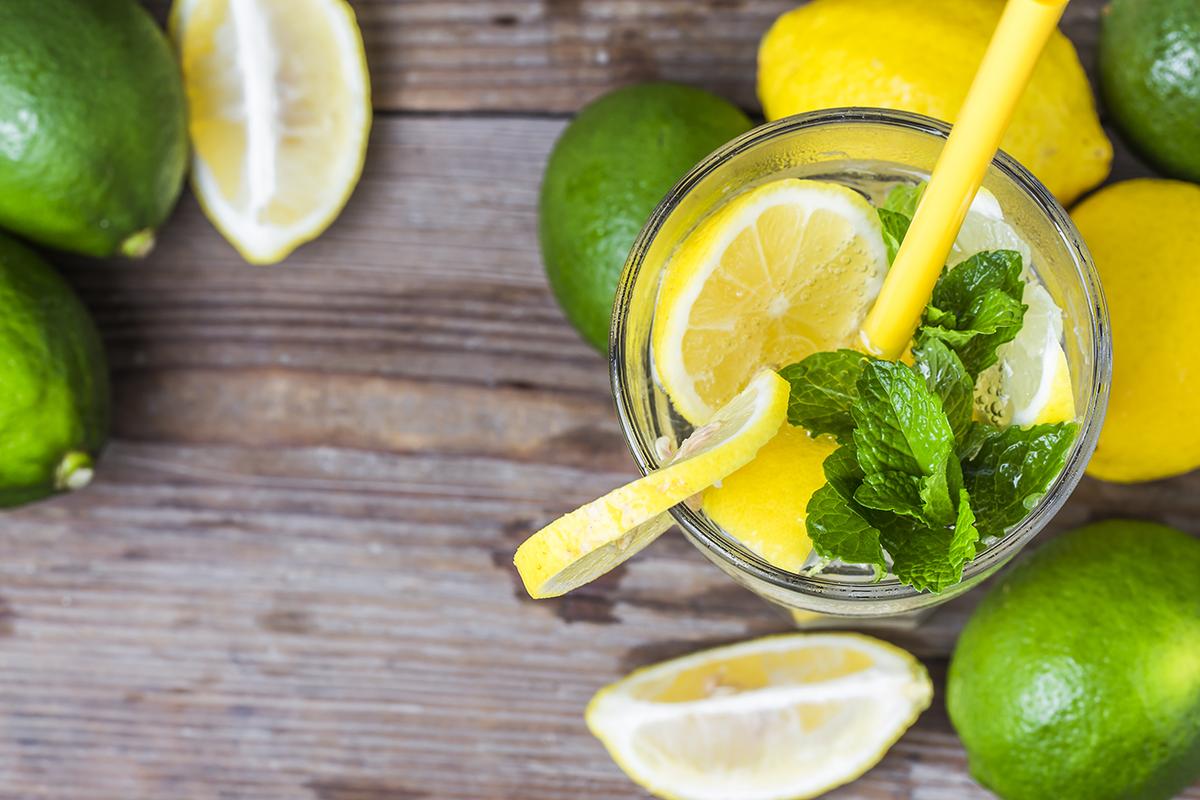 Лимон похудение вред