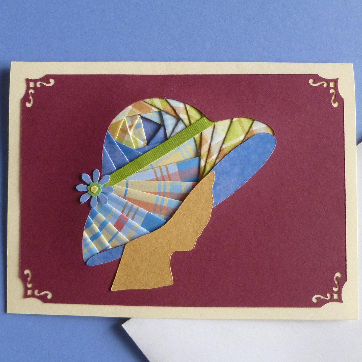Открытка техника, открытка