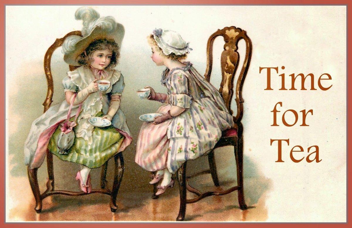 Поздравления картинки, открытки со старинными куклами