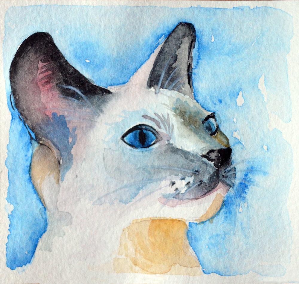 Картинки акварельными красками для срисовки