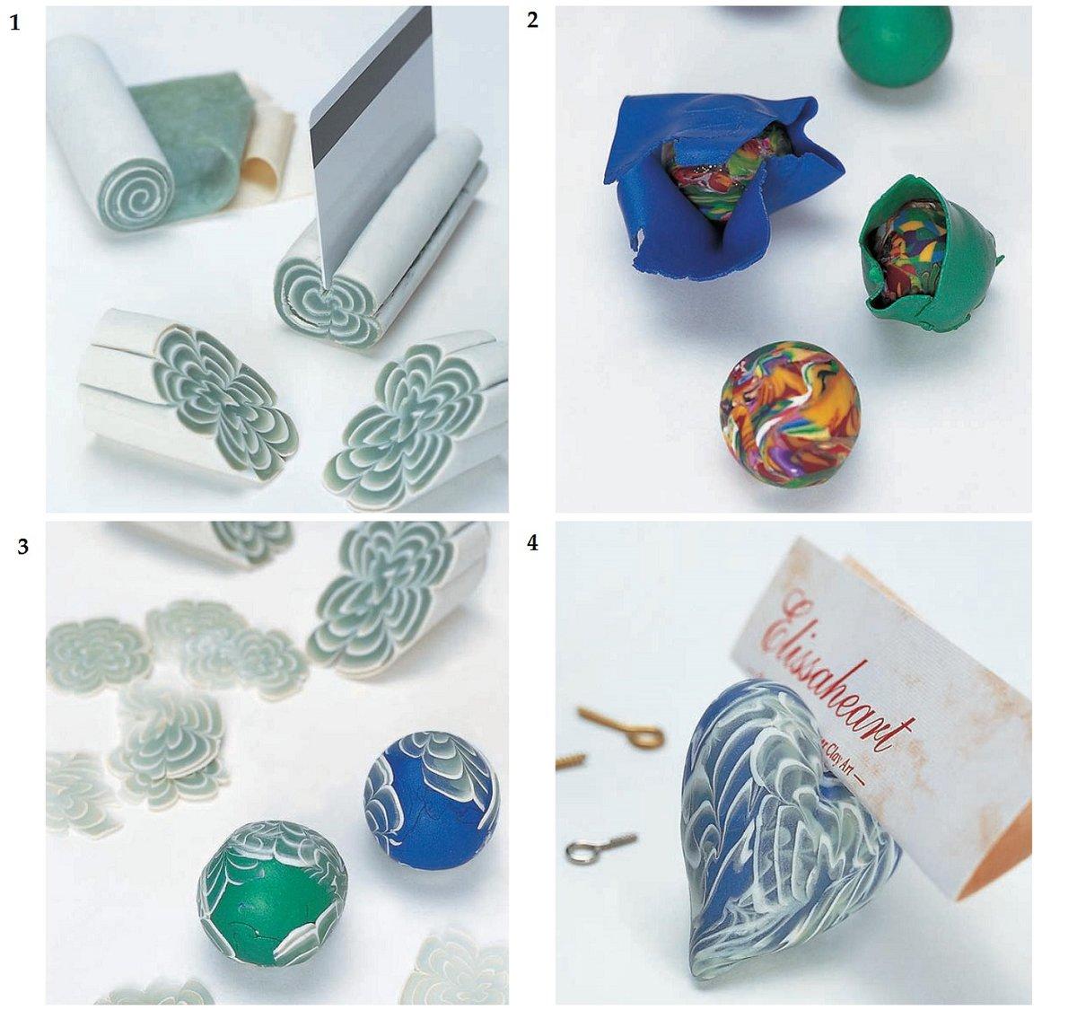 полимерная глина мастер класс картинки печати