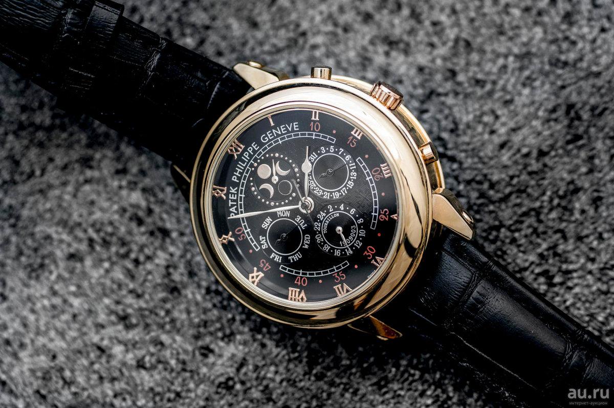 Часы patek philippe sky moon tourbillon — точные, функциональные, престижные.