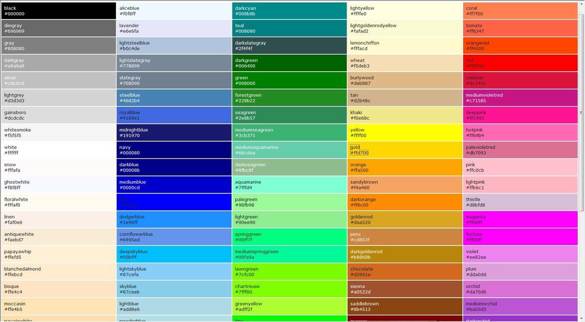 Картинка с кодом какого цвета, картинки