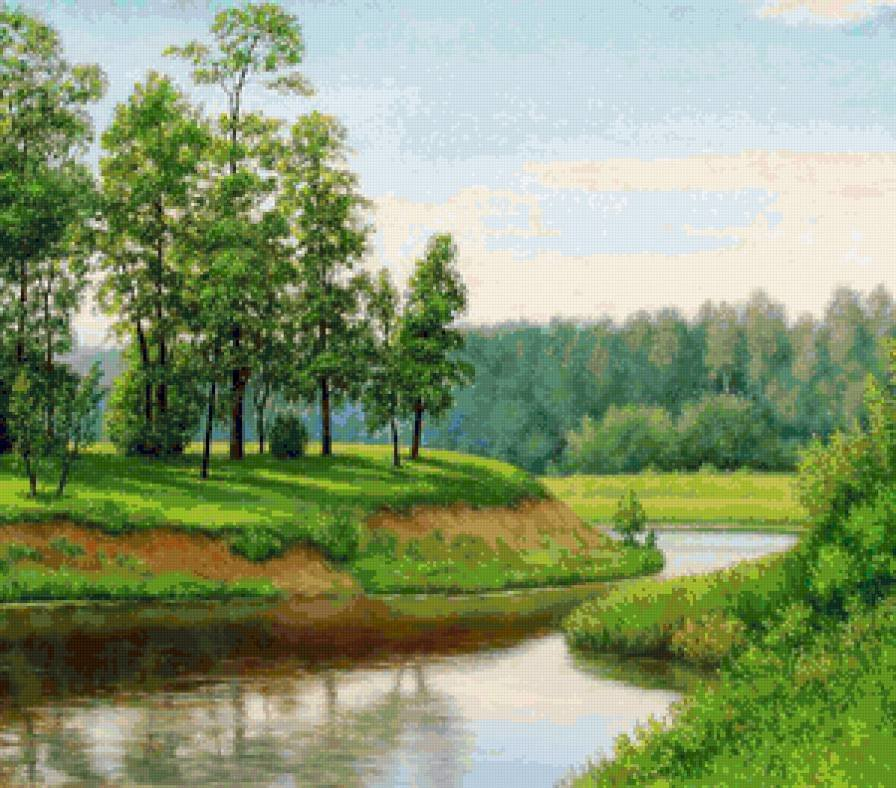 пейзажи средней полосы россии рисунки силы казани вокруг