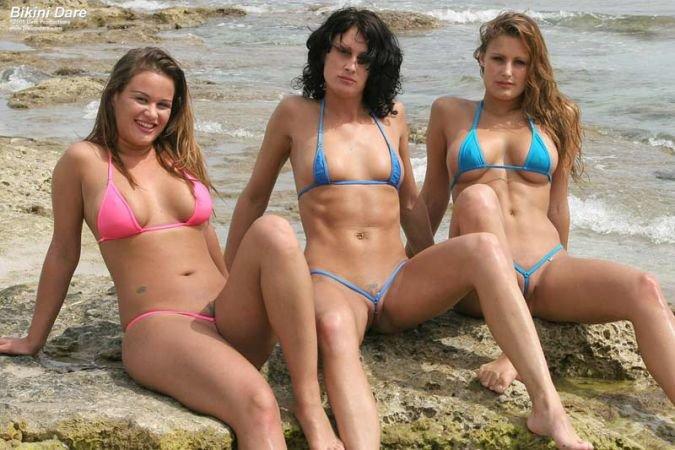 Extreme tight bikini girl — 14