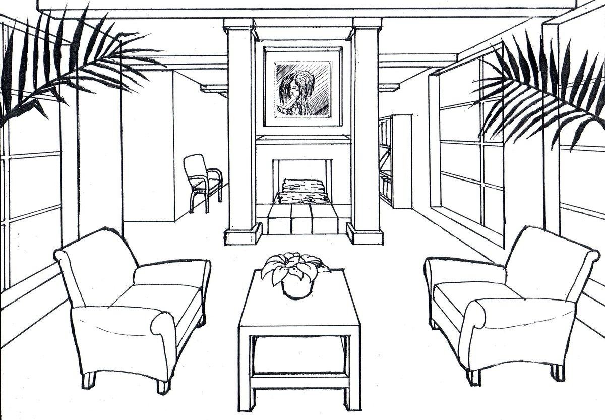 Рисунки для домашнего интерьера