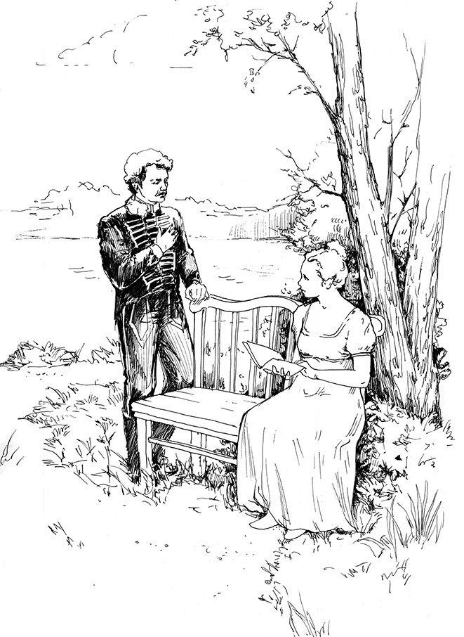 жить картинки к повести барышня крестьянка пушкина карандашом вам понравился пост