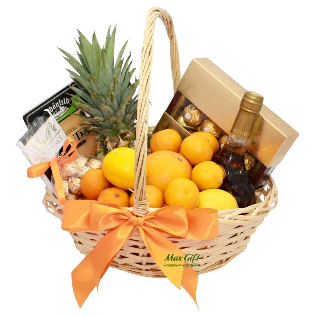 удобнее корзина с фруктами и вином в подарок своими руками фото избежать, зато результат
