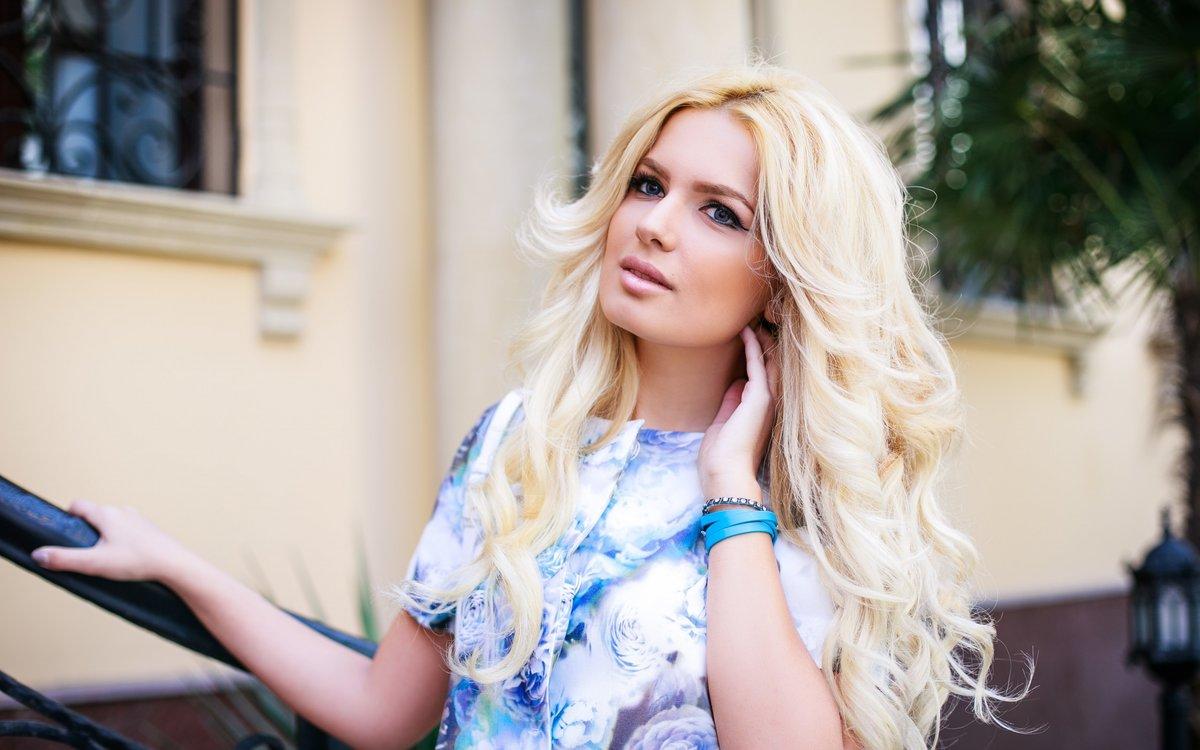 Картинки красивый девушек на аву блондинок