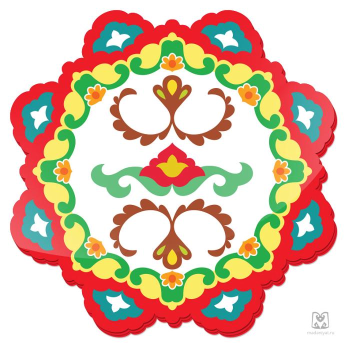 Татарский национальный орнамент картинки для детей