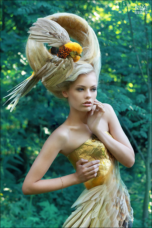 Дарья птица фотомодель