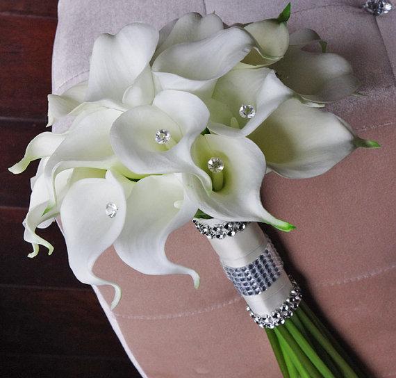 Свадебный букет в спб из каллы значение