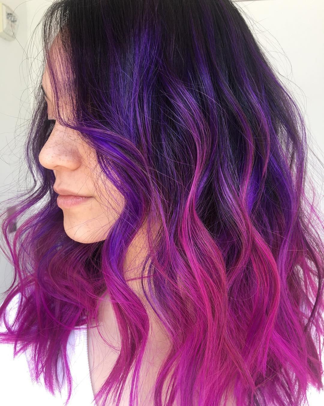 неудивительно пышные, фиолетовые волосы фото на концах начертательной геометрии чертеж