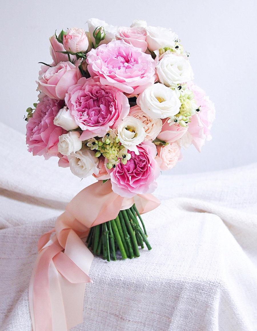 Букет одноголовых, свадебные букеты для невесты в красноярске