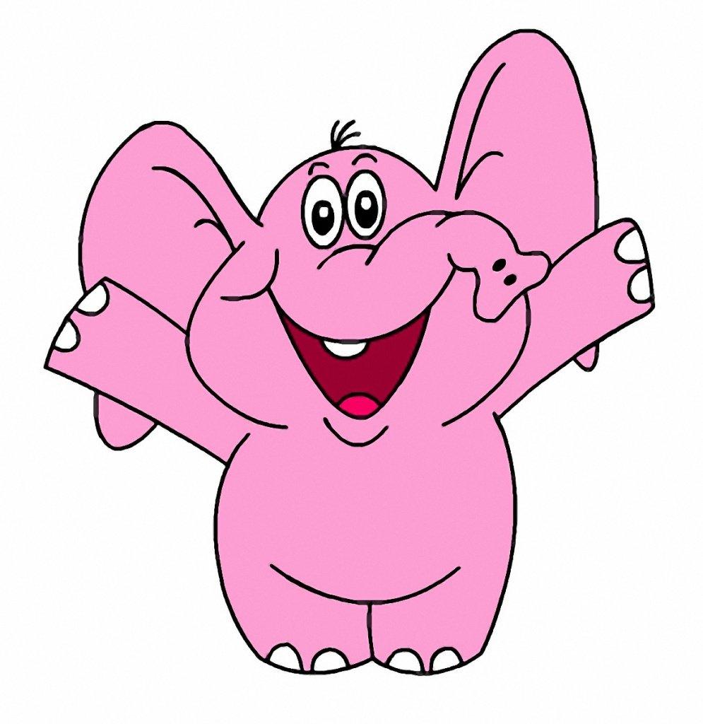 Картинки розовый слон, зул картинки